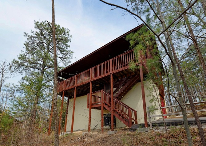 pigeon forge cabin – eagles landing – exterior