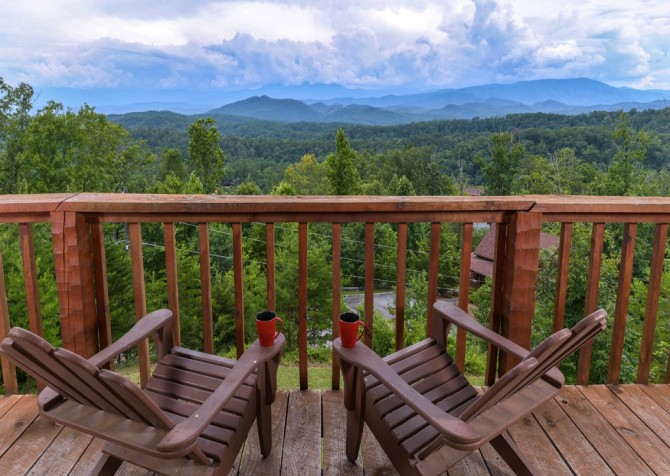 pigeon forge cabin – hard to leave – exterior