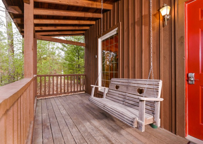 pigeon forge cabin – hearts desire – exterior
