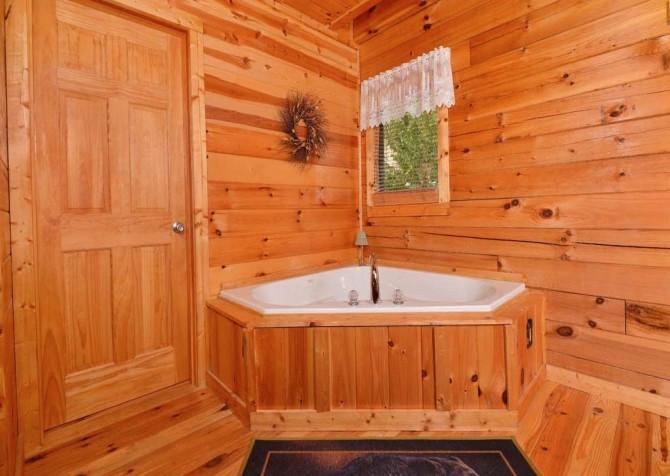 pigeon forge cabin – high-bear-nation – bathroom