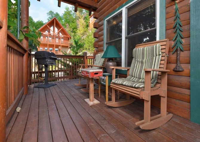 pigeon forge cabin – high-bear-nation – exteror