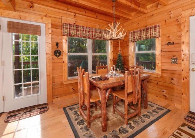 pigeon forge cabin – high-bear-nation – kitchen