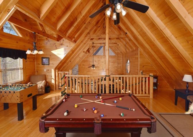 Gatlinburg - Hilltop Hideaway - Rec Room