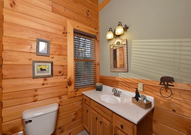 Pigeon Forge - Homestead Hideaway - Bathroom