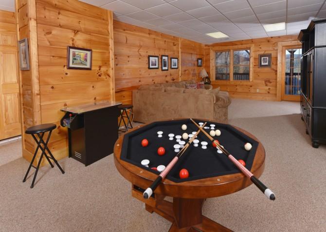 Pigeon Forge - Homestead Hideaway - Rec Room