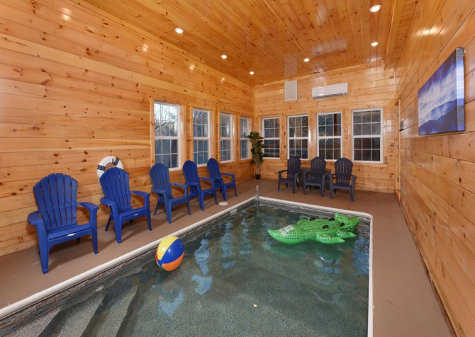 Pigeon Forge- Keaton's Kabin- Pool Room
