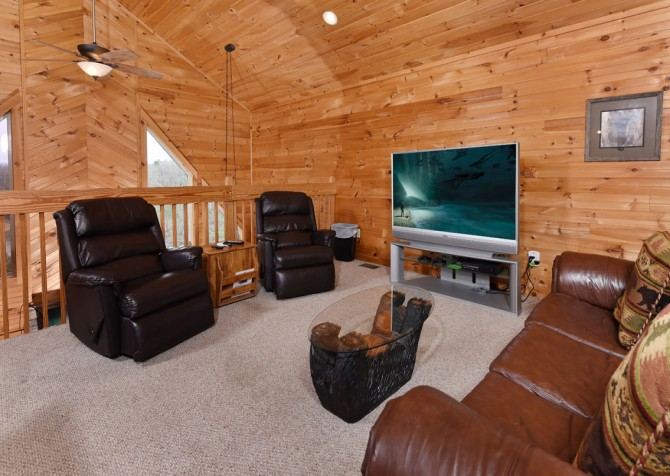 Pigeon Forge - Lakeside Mountain Memories - Media Room