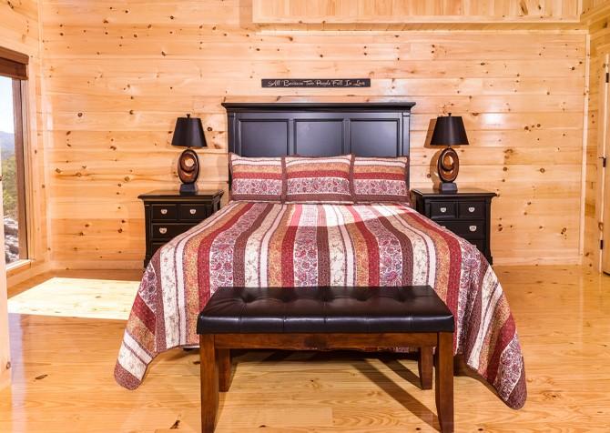 pigeon forege - lazy days - bedroom