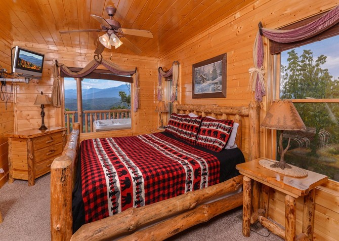 pigeon forge - legacy views and a theater - bedroom