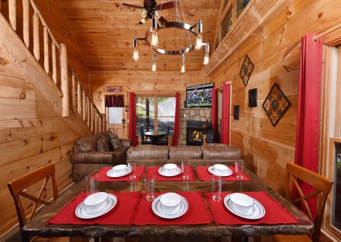 Pigeon Forge - Little Bear Lodge - Kitchen
