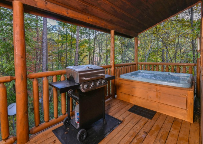 Pigeon Forge - The Looney Bin - Outdoor Grill