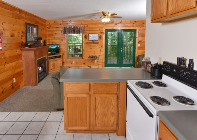 Pigeon Forge Cabin - Lorin Aleah - Kitchen