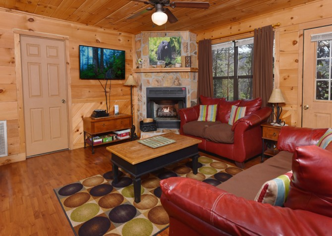 Pigeon Forge - Magnolia Bearadise - Living Room