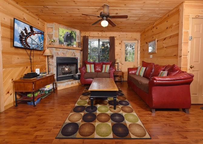 Magnolia Bearadise - Living Room