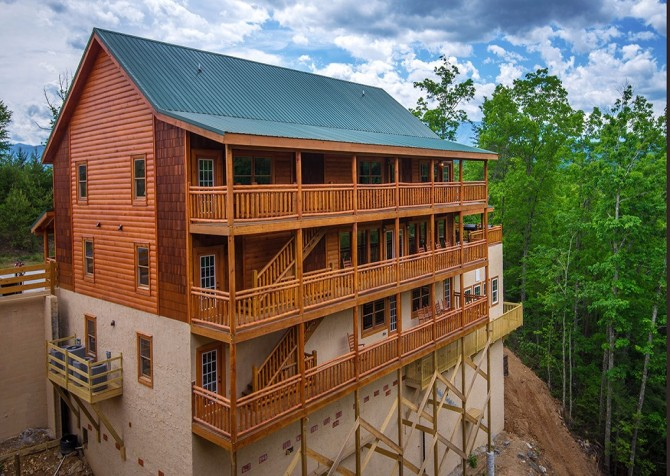 Pigeon Forge - Majestic Lodge - exterior