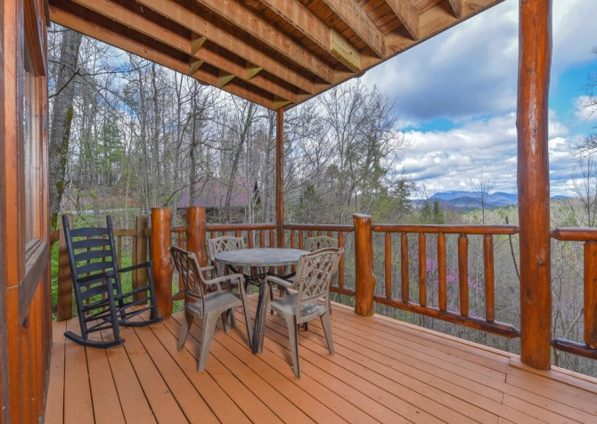 Pigeon Forge - Moondance - Deck Dining
