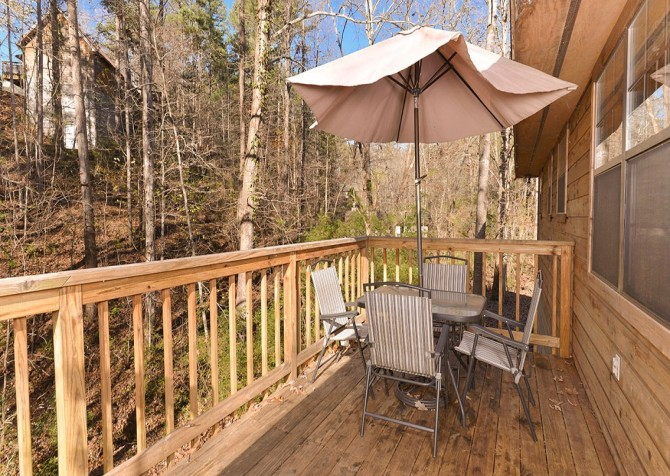 Pigeon Forge - Mountain Blessing - deck