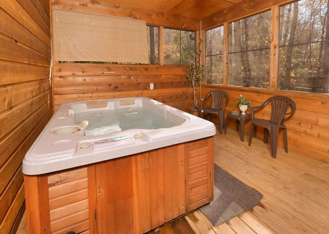 Pigeon Forge - Mountain Blessing - hottub