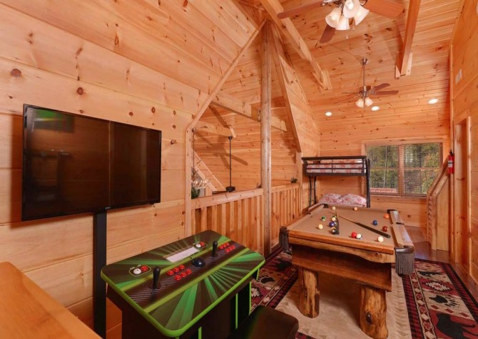 Pigeon Forge - Mother's Dream - gameroom