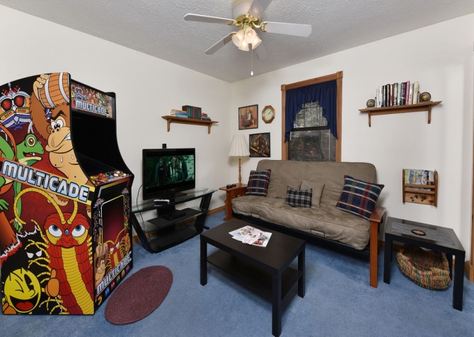 Pigeon- Forge - Mountain Paradise- rec room