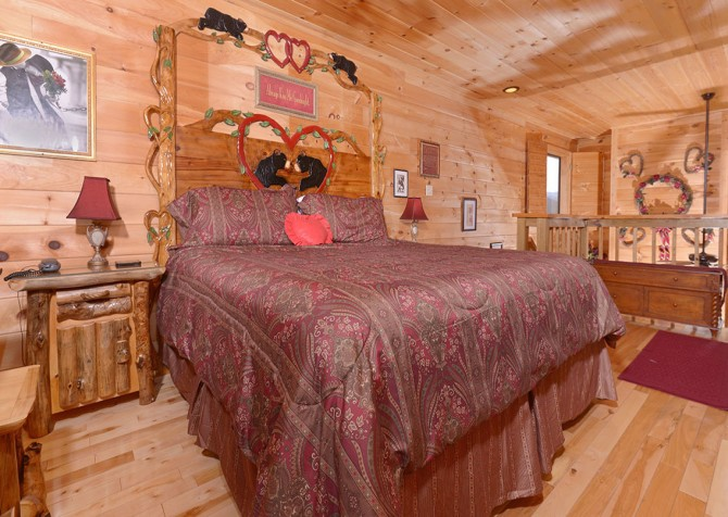 Pigeon forge cabins mountain romance - 7 bedroom cabins in pigeon forge ...