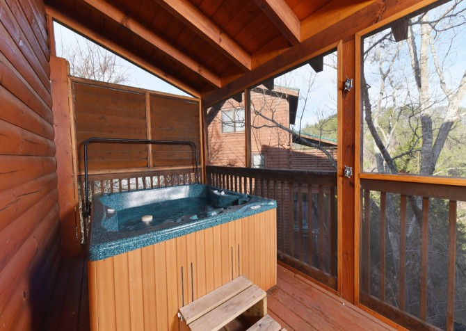 Pigeon Forge - Mountain Time - Hot Tub