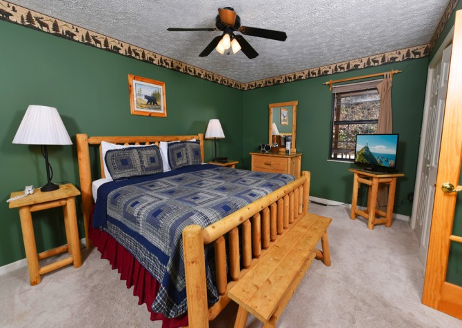 Pigeon Forge - Mountain Blessing - Bedroom