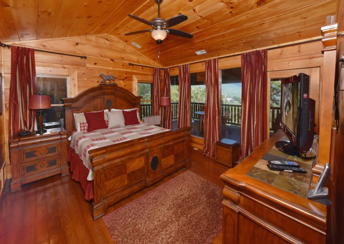 pigeon forge - Once Upon a View - Bedroom