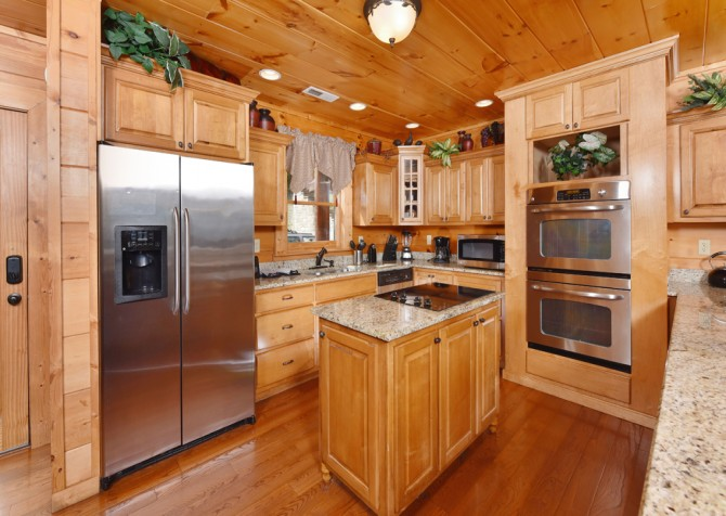 pigeon forge - Once Upon a View - Kitchen