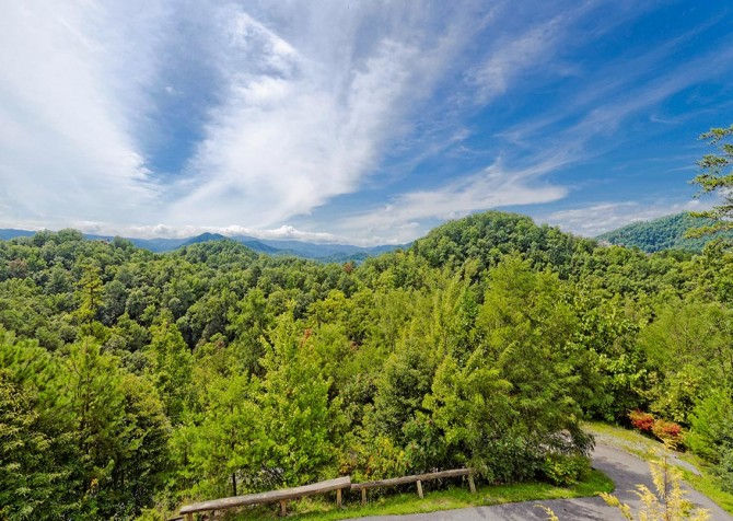 Pigeon Forge Cabin – Paul Bunyan's Treehouse - View