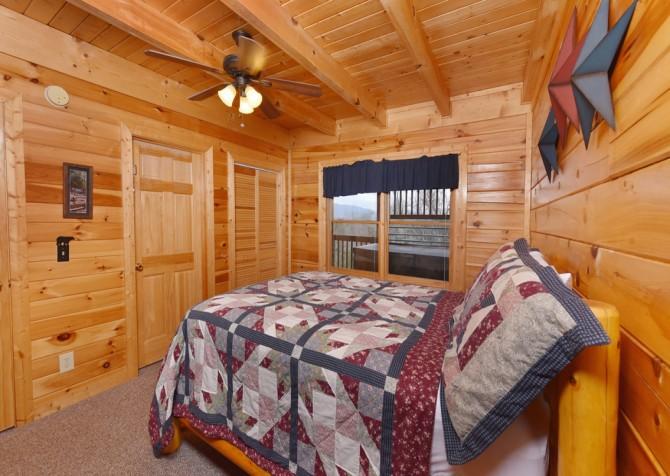 Pigeon Forge - Pioneer Place - Bedroom