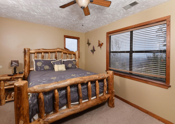 Pigeon Forge - Smoky View Top Shelf - Bedroom One