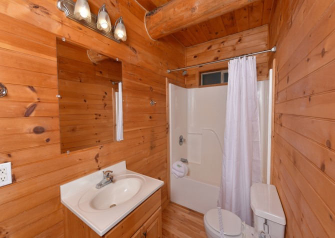 Pigeon Forge - Timber Toy - Bathroom
