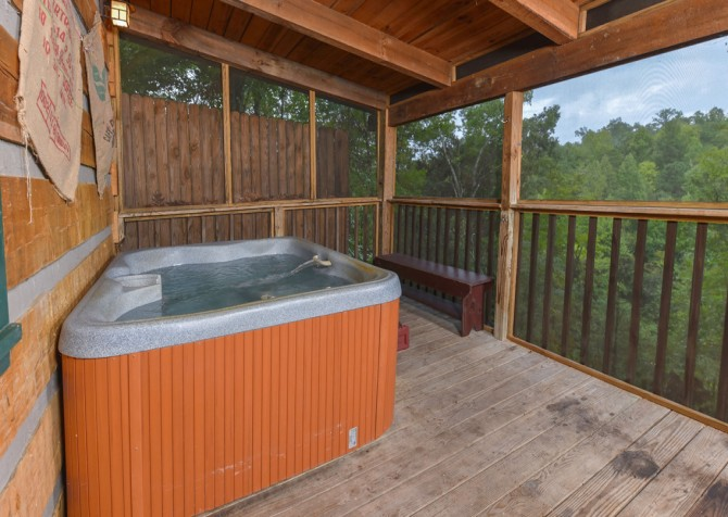 Pigeon Forge - Tranquility - Hot Tub