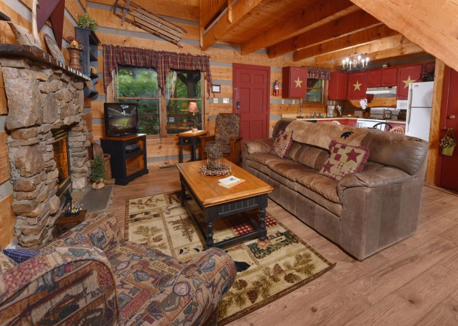 Pigeon Forge - Tranquility - Living Room