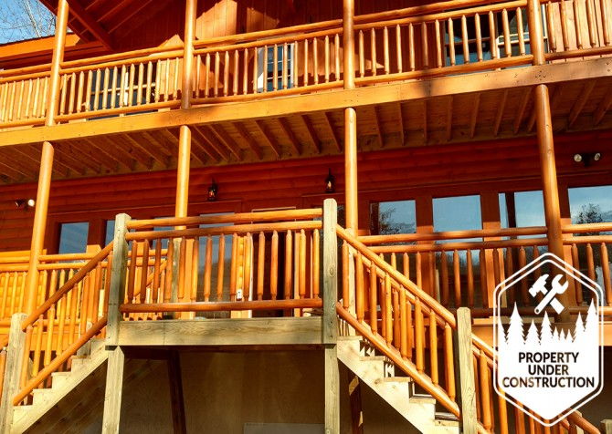 Pigeon Forge - Valley Lodge - Exterior Front Steps