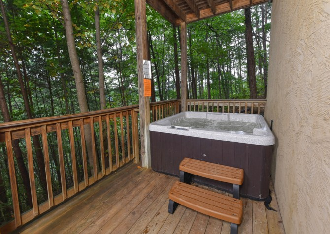 Pigeon Forge - Wholly Smokies - Hot Tub