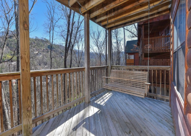 Pigeon Forge Cabin - Wild Bear Lodge – Exterior