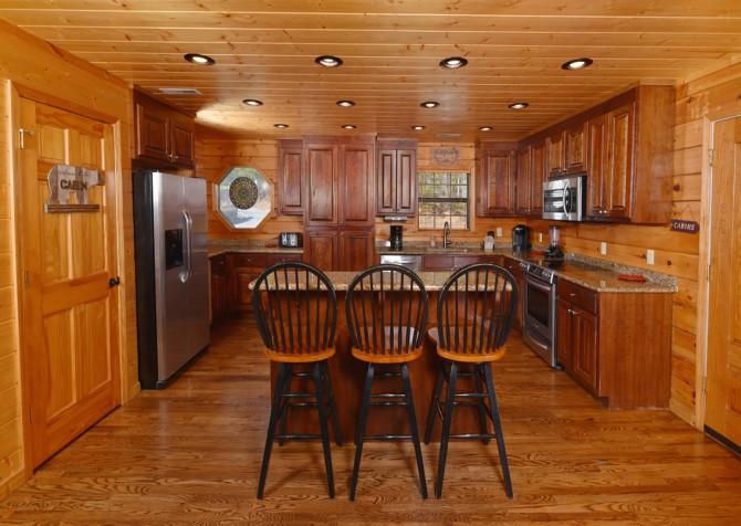 Pigeon Forge Cabin - Wild Bear Lodge – Kitchen