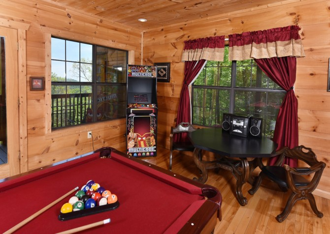 Pigeon Forge - Windswept Retreat - Recreation Room