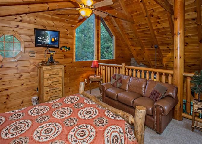 Pigeon Forge - Cedar Forest - Bedroom