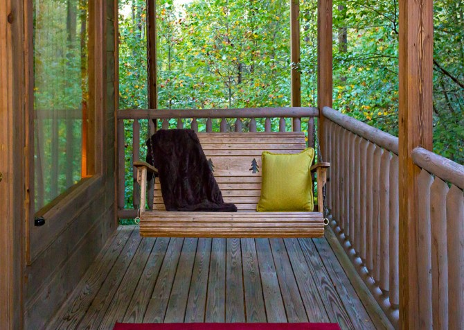 Pigeon Forge - Cedar Forest - Porch Swing