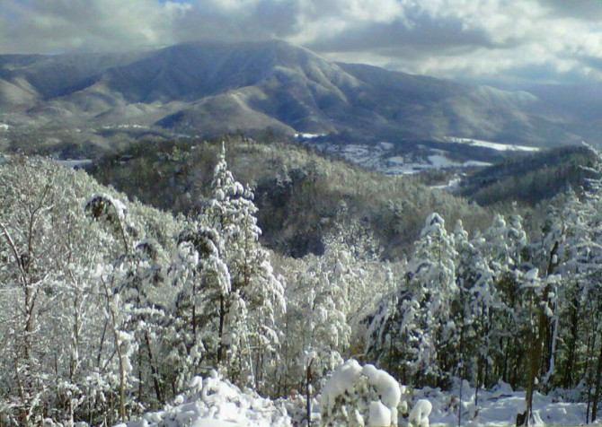 Pigeon Forge Cabin- Jackson's Cabin - Winter View