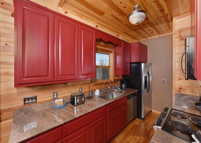 Pigeon Forge Cabin- Jackson's Cabin - Kitchen