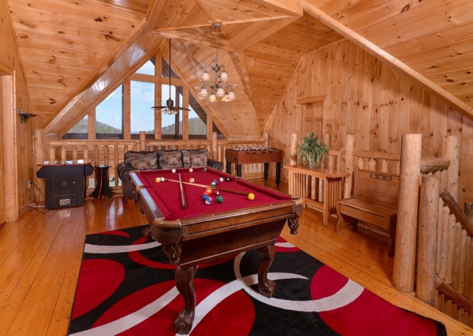 Pigeon Forge Cabin- Jennie's View - Game Room
