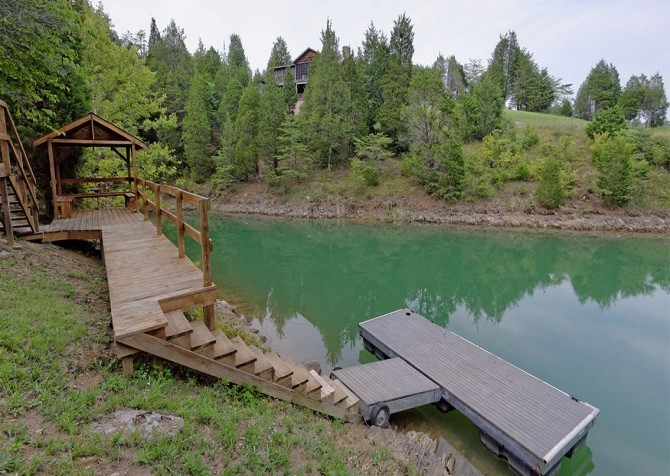 Pigeon Forge - Lakeside Mountain Memories - Floating Dock