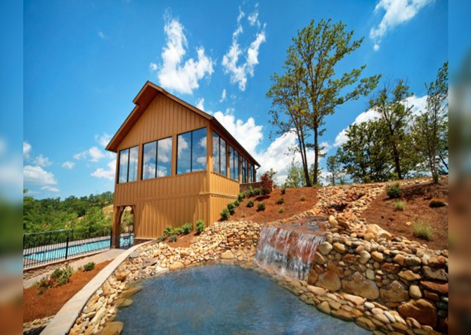 Pigeon Forge - View of God's Country - Resort Clubhouse