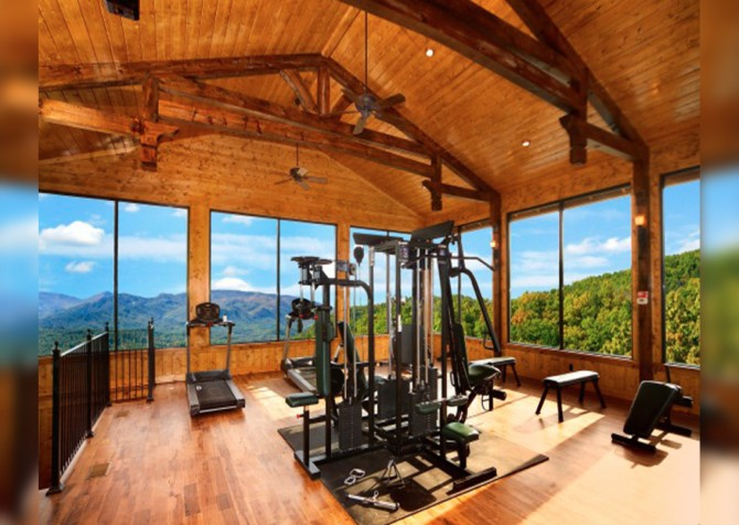 Pigeon Forge - View of God's Country - Resort Fitness Room