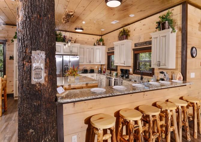 Pigeon Forge - Luxury Lodge - Kitchen