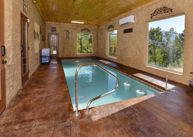 Pigeon Forge - Luxury Lodge - Pool